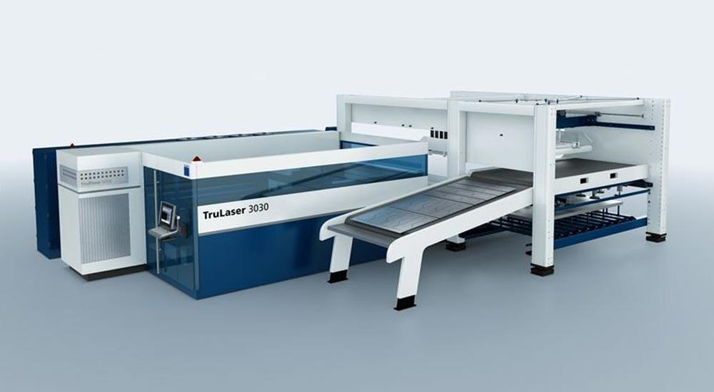 Maschinenpark TruLaser3030 – Gienger Metallbau