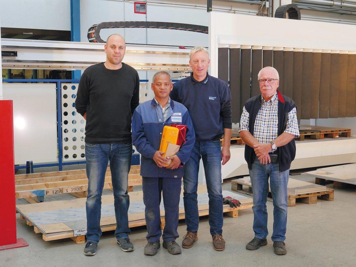 Aktuell 2017 Firmenjubiläum – Gienger Metallbau